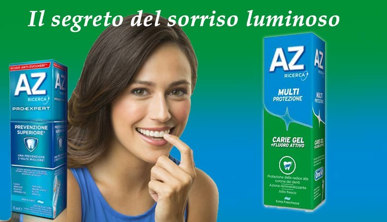 Dentifricio AZ scontato in super offerta